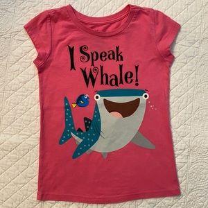 """Disney Pixar Finding Dory """"I Speak Whale"""" T-Shirt"""